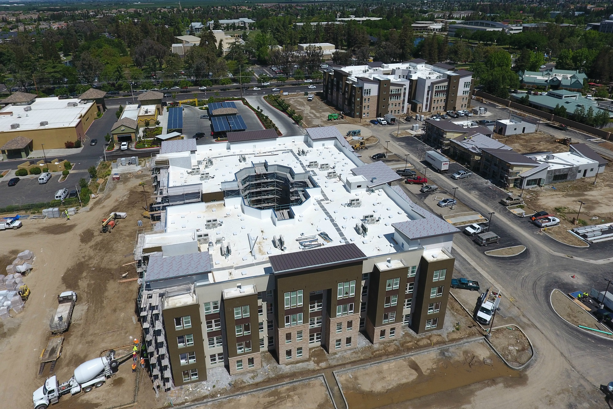 Am Cal Turlock Student Housing Project